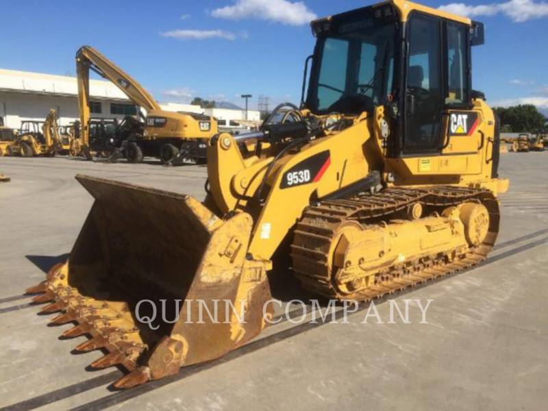 CATERPILLAR CARGADORES DE CADENAS 953D equipment  photo 1