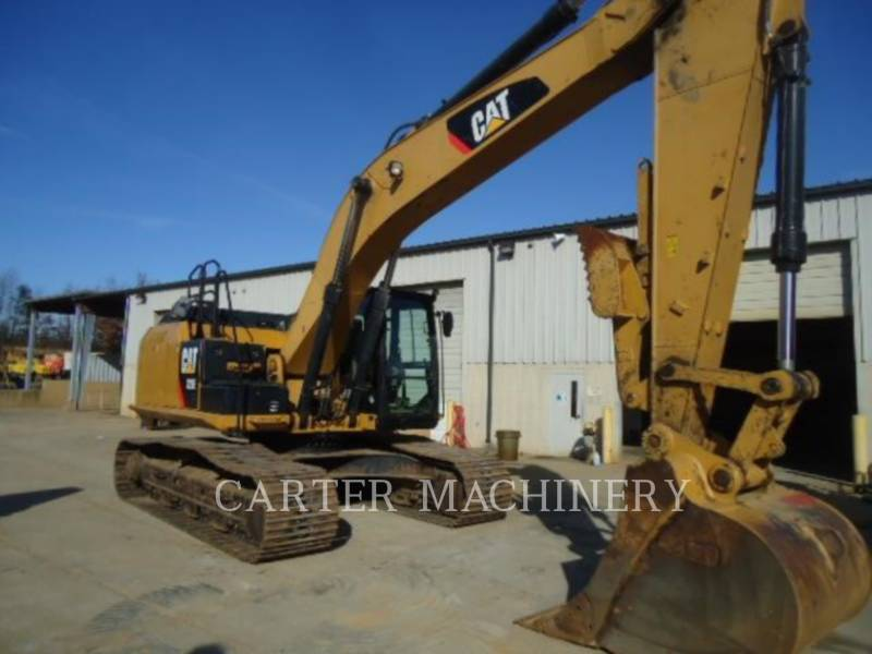 CATERPILLAR TRACK EXCAVATORS 329 E L equipment  photo 2