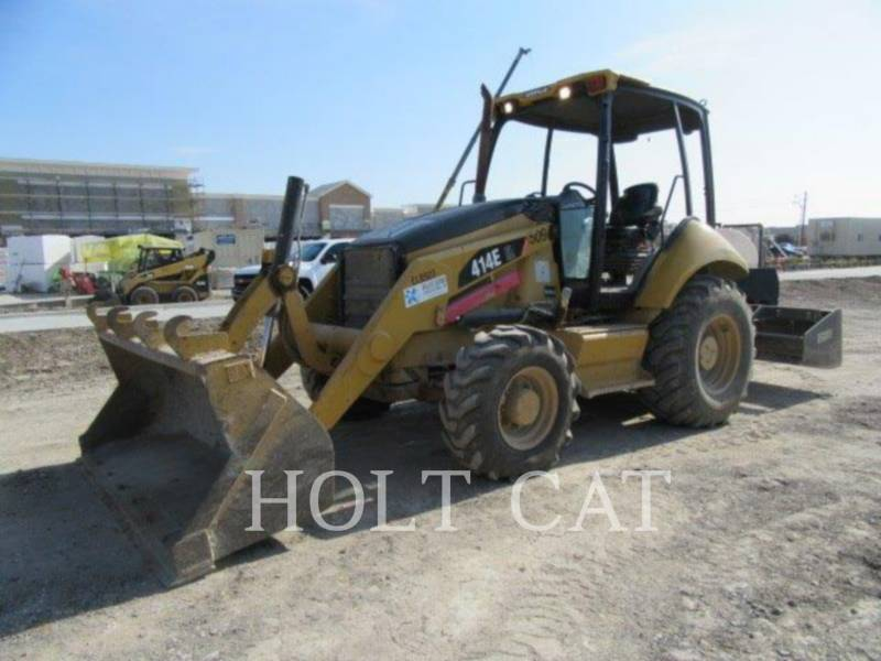 CATERPILLAR CHARGEUSES-PELLETEUSES 414E IL equipment  photo 2