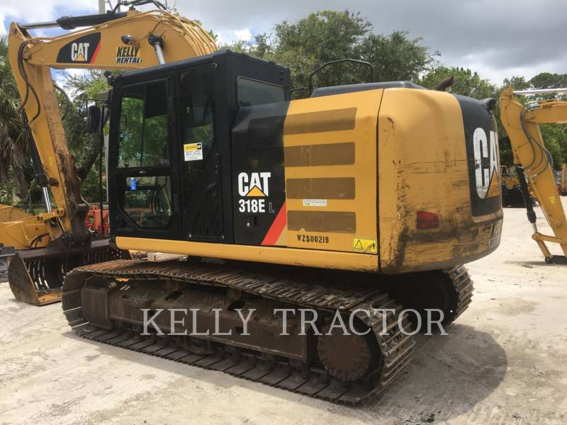 CATERPILLAR KETTEN-HYDRAULIKBAGGER 318EL equipment  photo 3