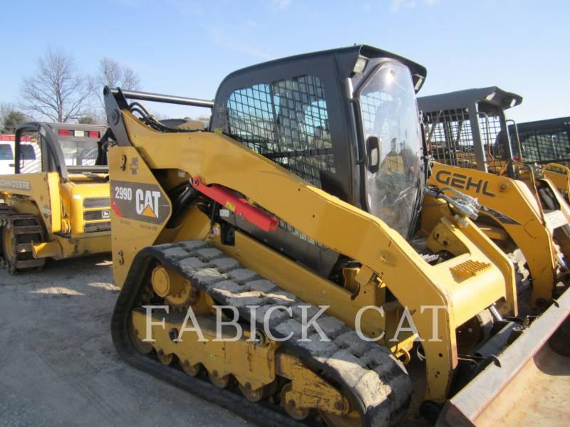 CATERPILLAR CARGADORES MULTITERRENO 299D XPS equipment  photo 1