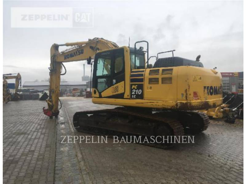 KOMATSU LTD. EXCAVADORAS DE CADENAS PC210-10 equipment  photo 4