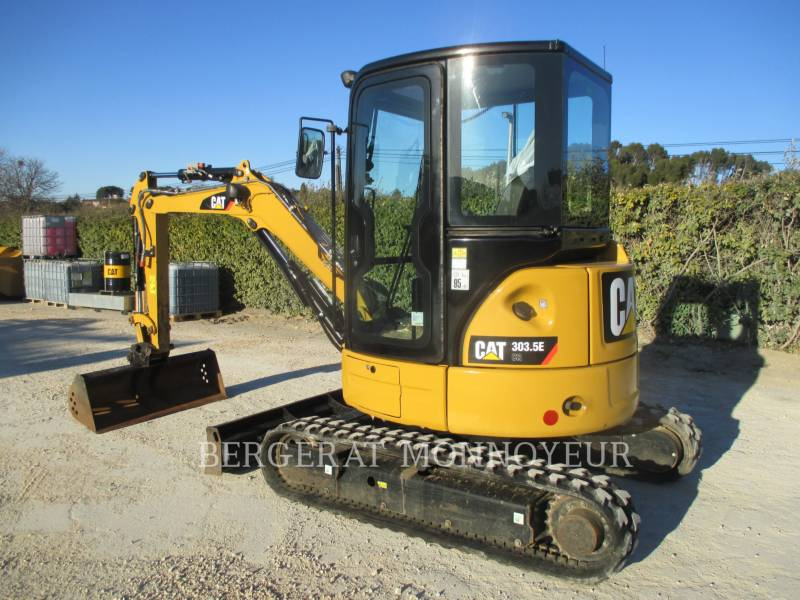 CATERPILLAR KOPARKI GĄSIENICOWE 303.5E CR equipment  photo 10