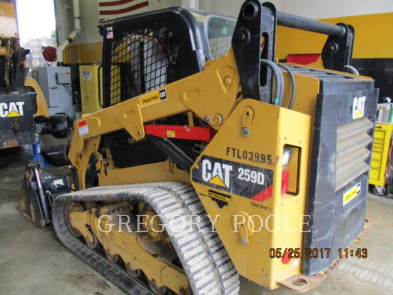 CATERPILLAR MULTI TERRAIN LOADERS 259D N equipment  photo 4
