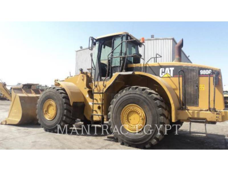 CATERPILLAR CARGADORES DE RUEDAS 980GII equipment  photo 4