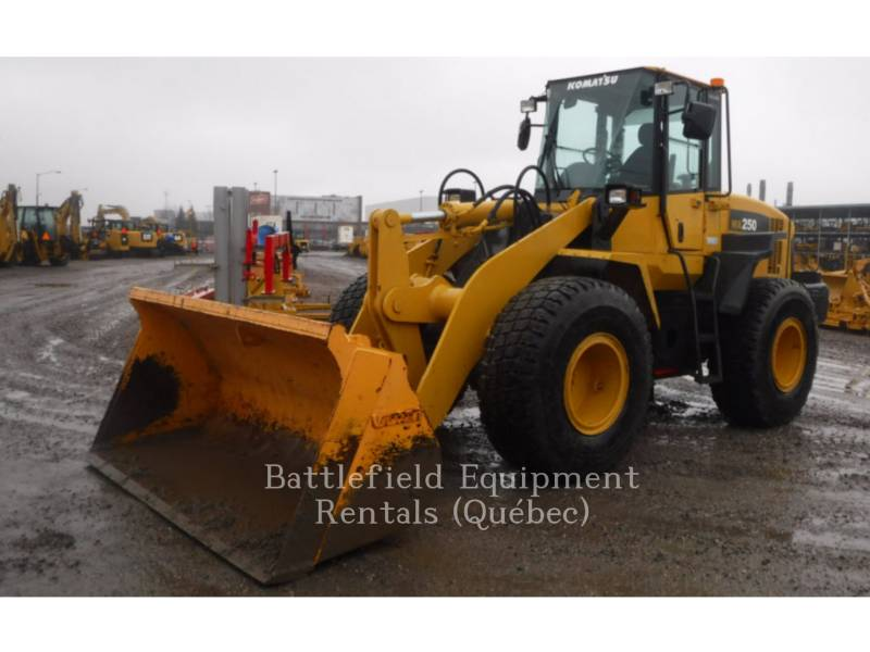 KOMATSU CARGADORES DE RUEDAS WA250 equipment  photo 1