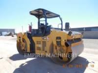 Equipment photo CATERPILLAR CB66B COMPACTEURS TANDEMS VIBRANTS 1