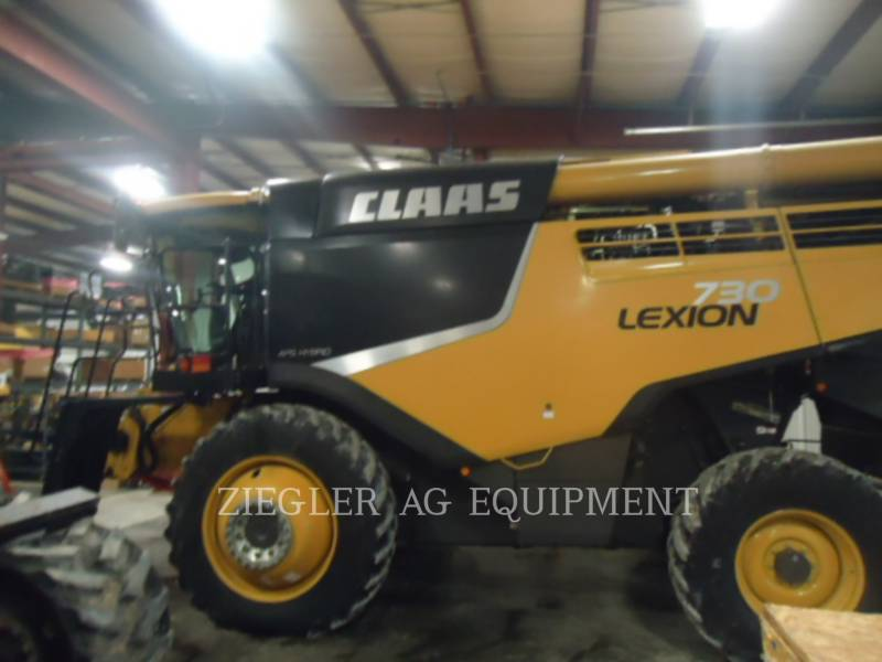LEXION COMBINE COMBINADOS 730 equipment  photo 2