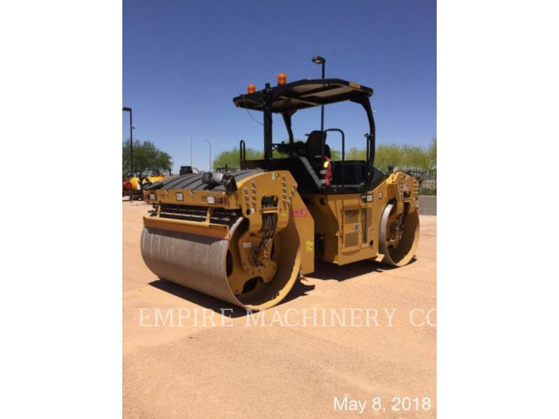 CATERPILLAR TAMBOR DOBLE VIBRATORIO ASFALTO CB66B equipment  photo 4