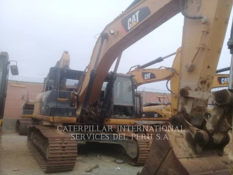 CATERPILLAR PELLES SUR CHAINES 329 D L ME equipment  photo 3