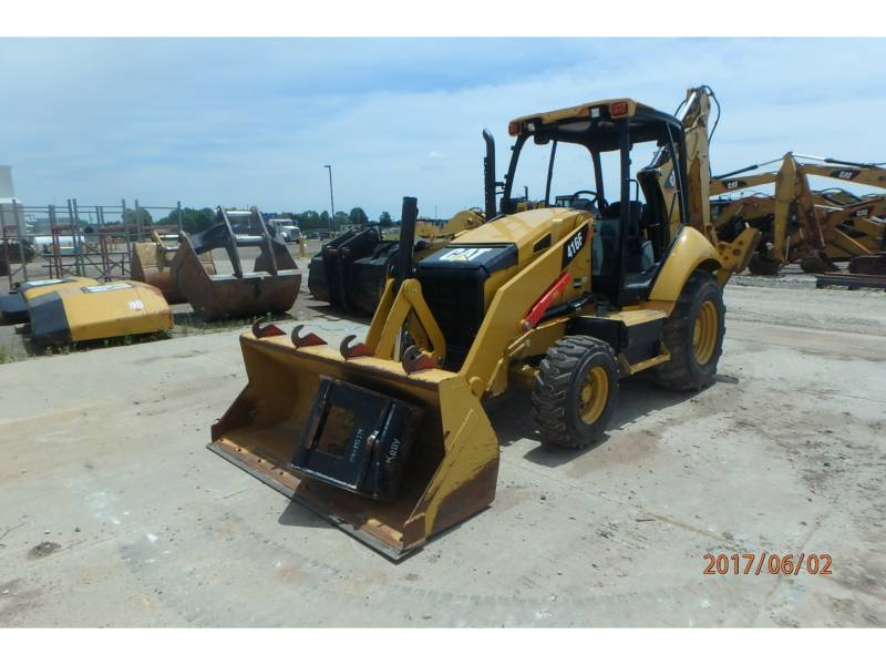 CATERPILLAR BAGGERLADER 416FST equipment  photo 1