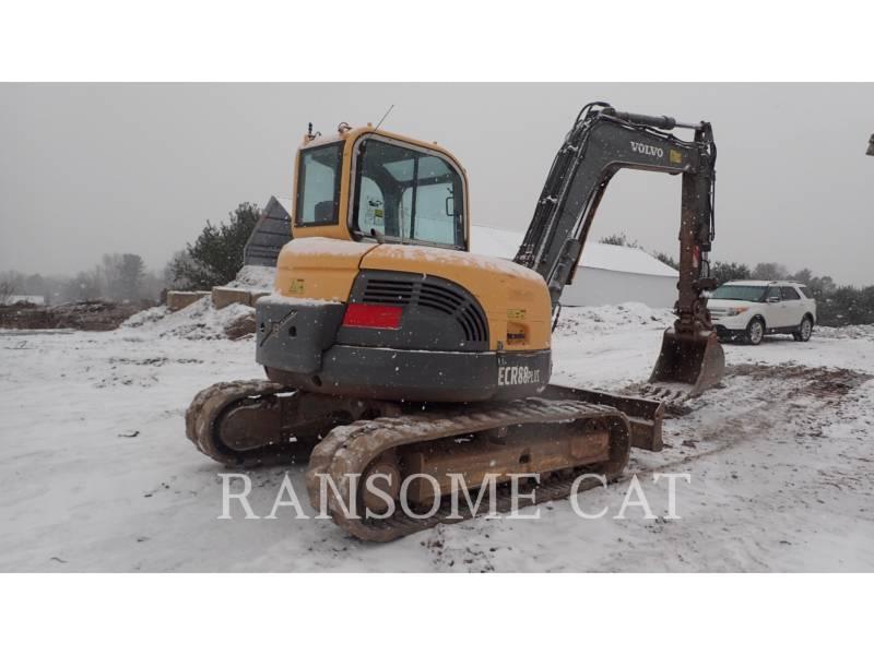 VOLVO KOPARKI GĄSIENICOWE ECR88 equipment  photo 4