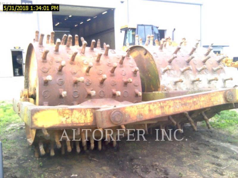 TAMPO GEZOGENE WALZEN ROLLER equipment  photo 3