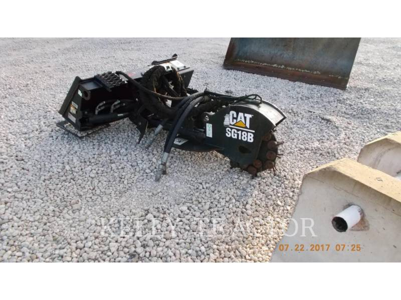 CATERPILLAR DIVERSOS SG18B STUMP GRINDER HIGHFLOW/46