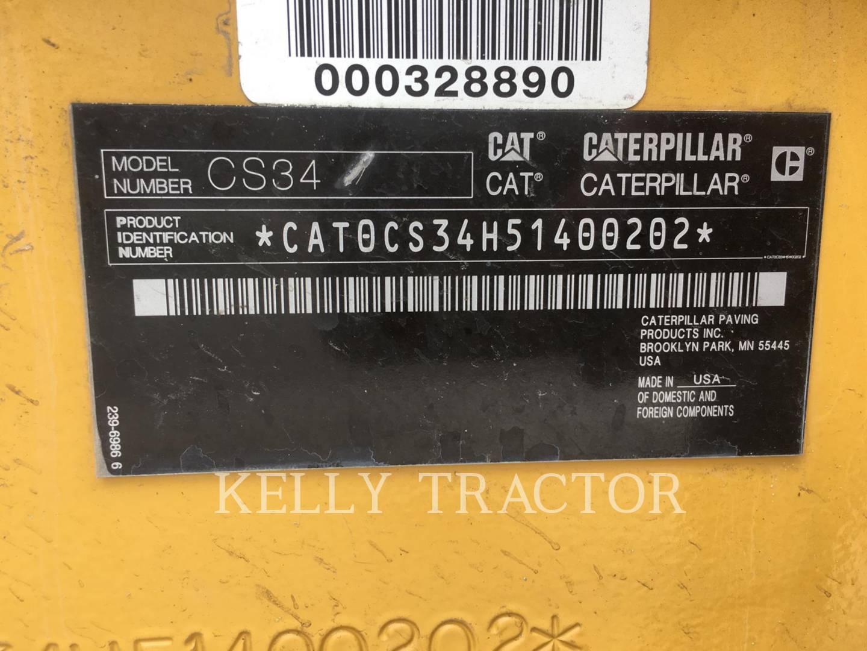 Detail photo of 2016 Caterpillar CS34 from Construction Equipment Guide
