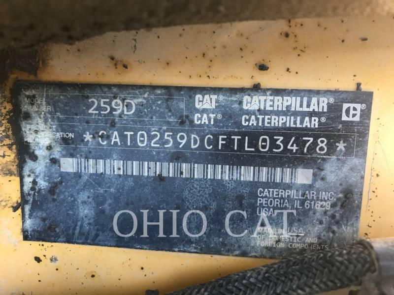 CATERPILLAR CARGADORES MULTITERRENO 259D C3 equipment  photo 3