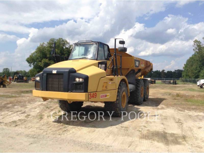 CATERPILLAR TOMBEREAUX ARTICULÉS 740B/TAIL equipment  photo 3