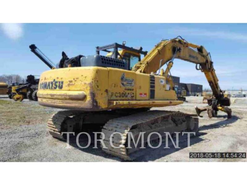 KOMATSU LTD. KETTEN-HYDRAULIKBAGGER PC300LC-6 equipment  photo 4