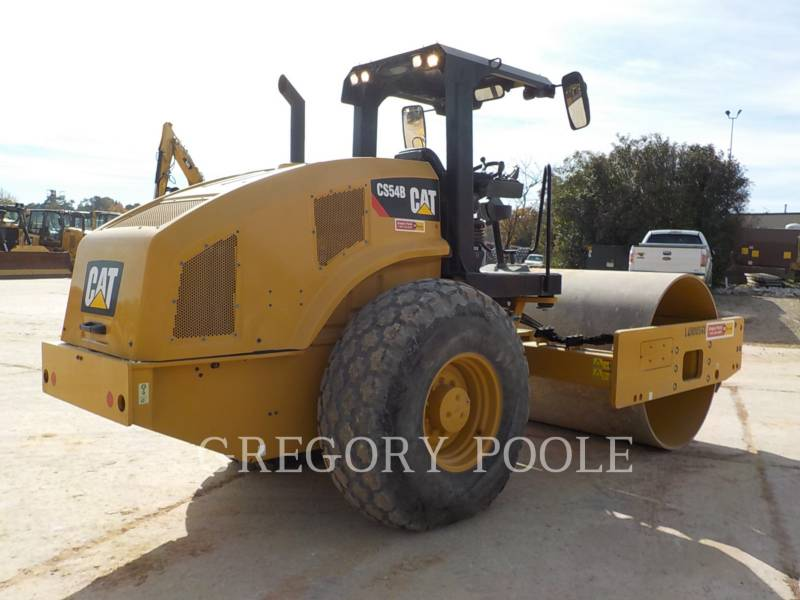 CATERPILLAR COMPACTEUR VIBRANT, MONOCYLINDRE LISSE CS-54B equipment  photo 11