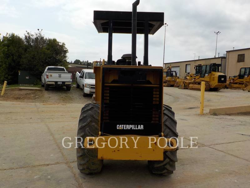 CATERPILLAR VIBRATORY SINGLE DRUM PAD CP-433C equipment  photo 13
