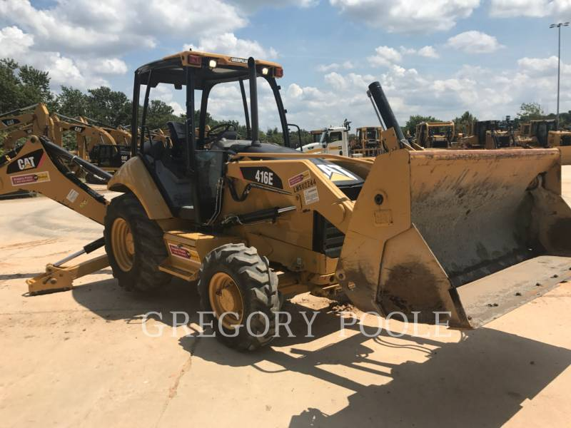 CATERPILLAR BACKHOE LOADERS 416E/4MT equipment  photo 3