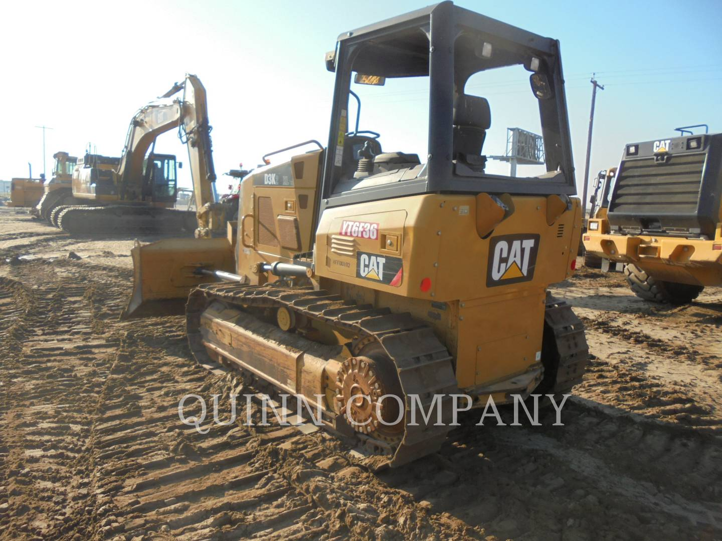 Detail photo of 2011 Caterpillar D3K from Construction Equipment Guide