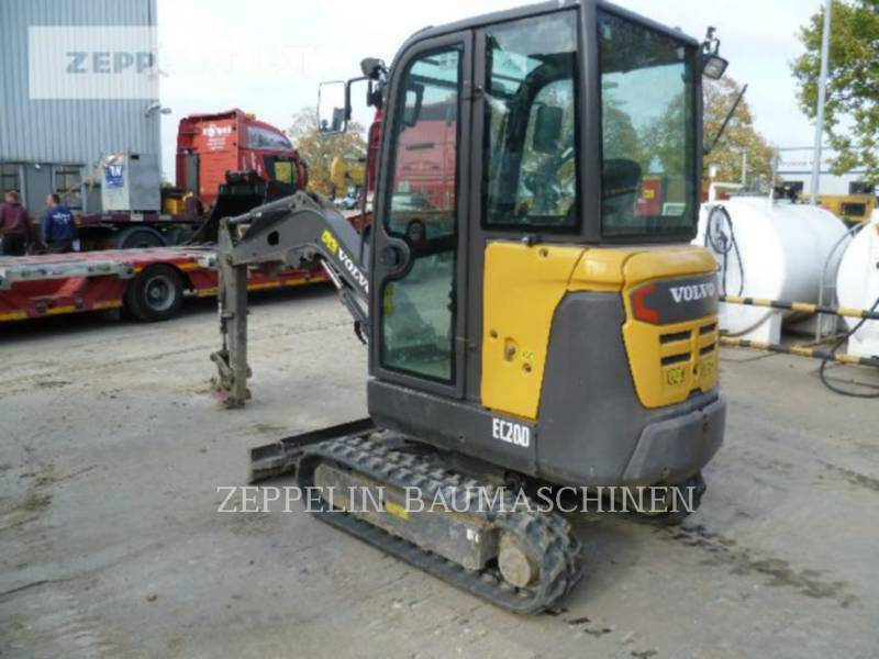 VOLVO CONSTRUCTION EQUIPMENT ESCAVADEIRAS EC20D equipment  photo 4