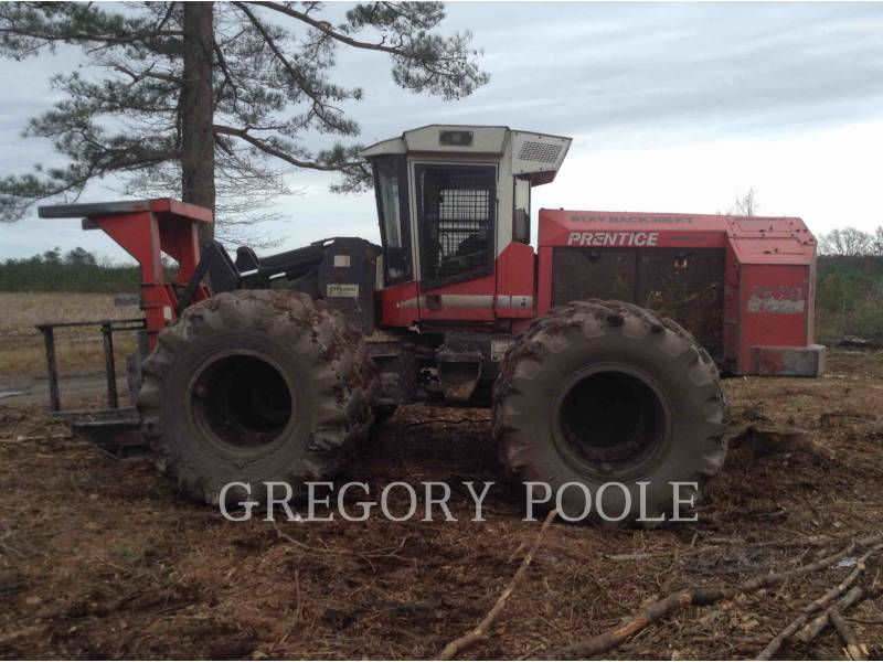 PRENTICE FORESTRY - FELLER BUNCHERS - WHEEL 2670 equipment  photo 8