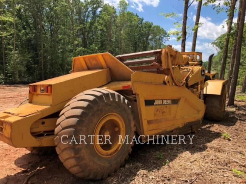 DEERE & CO. WHEEL TRACTOR SCRAPERS DER 762B equipment  photo 5