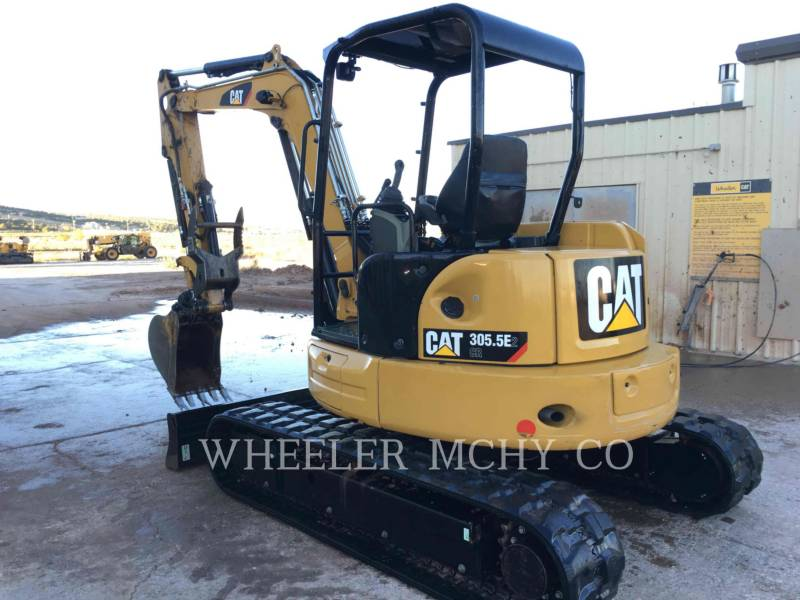 CATERPILLAR KETTEN-HYDRAULIKBAGGER 305.5E2C1T equipment  photo 4