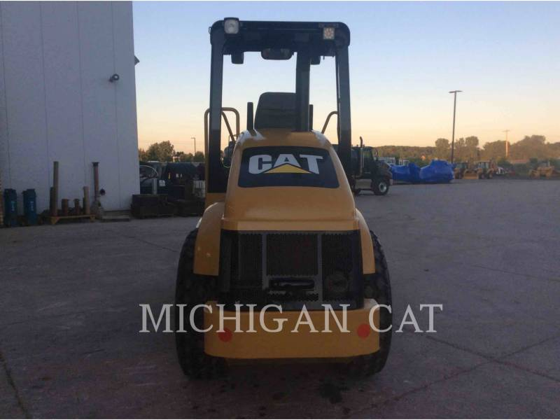 CATERPILLAR EINZELVIBRATIONSWALZE, GLATTBANDAGE CS-433E equipment  photo 6