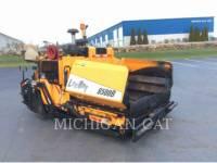 Equipment photo LEE-BOY 8500B ASPHALT PAVERS 1