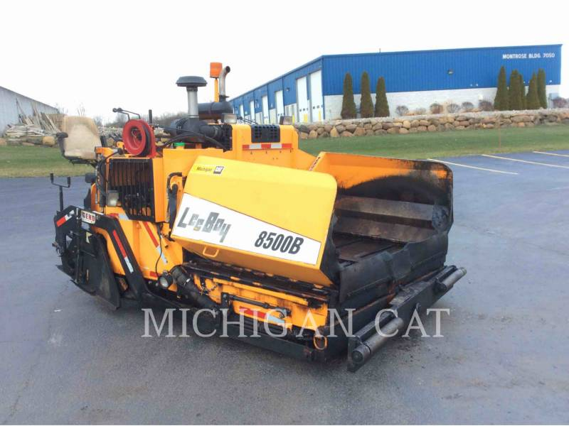 LEE-BOY PAVIMENTADORES DE ASFALTO 8500B equipment  photo 1