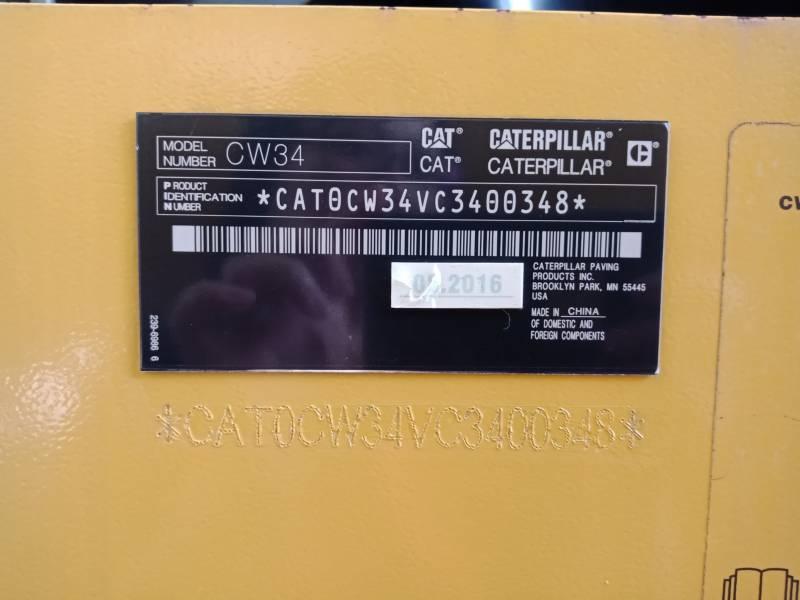 CATERPILLAR PNEUMATIC TIRED COMPACTORS CW34LRC equipment  photo 4