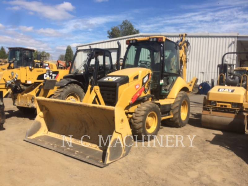 CATERPILLAR BACKHOE LOADERS 420F 4ECB equipment  photo 1