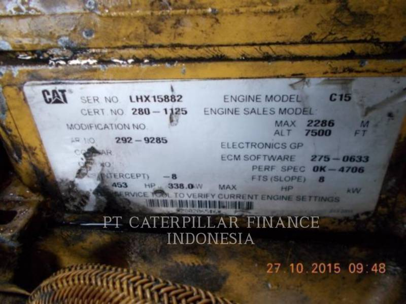 Caterpillar CAMIOANE ARTICULATE 740 equipment  photo 9