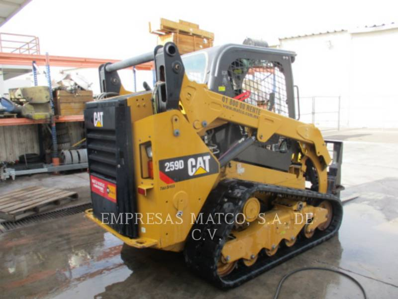 CATERPILLAR MULTITERREINLADERS 259DLRC equipment  photo 5