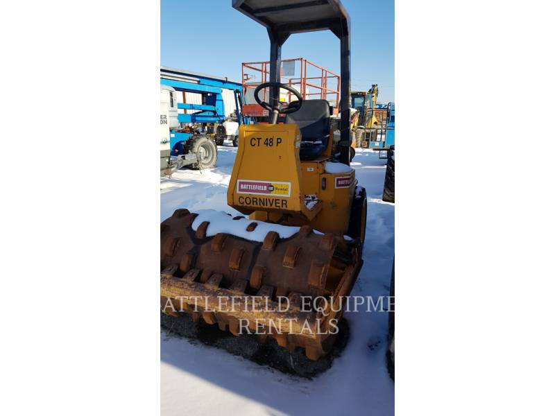 CORNIVER VIBRATORY SINGLE DRUM PAD CT48P equipment  photo 1