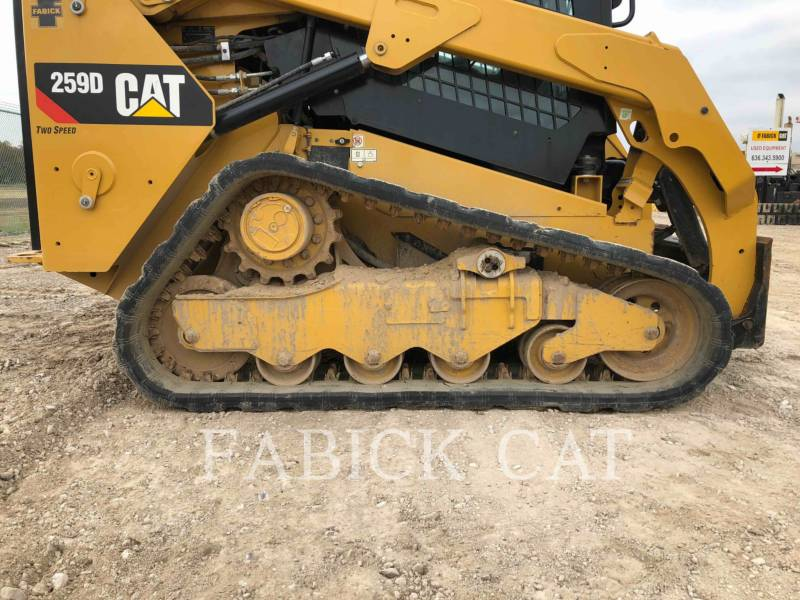 CATERPILLAR PALE CINGOLATE MULTI TERRAIN 259D equipment  photo 10