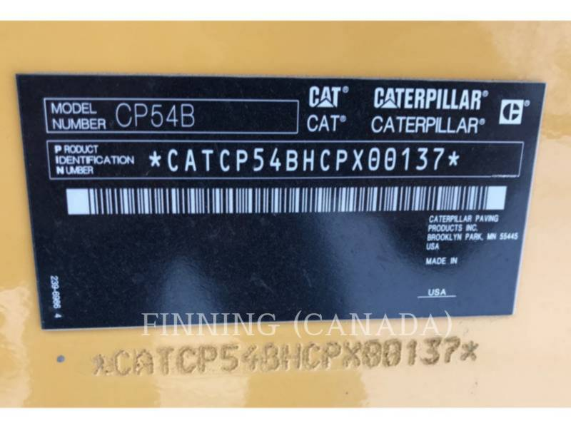 CATERPILLAR COMPACTADORES CP54B equipment  photo 10