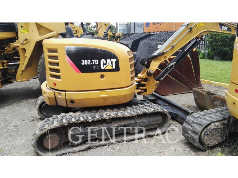 CATERPILLAR KOPARKI GĄSIENICOWE 302.7DCR equipment  photo 3