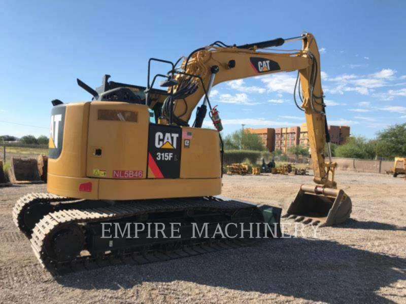 CATERPILLAR TRACK EXCAVATORS 315FLCR equipment  photo 9