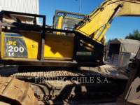 KOMATSU KETTEN-HYDRAULIKBAGGER PC200LC equipment  photo 3