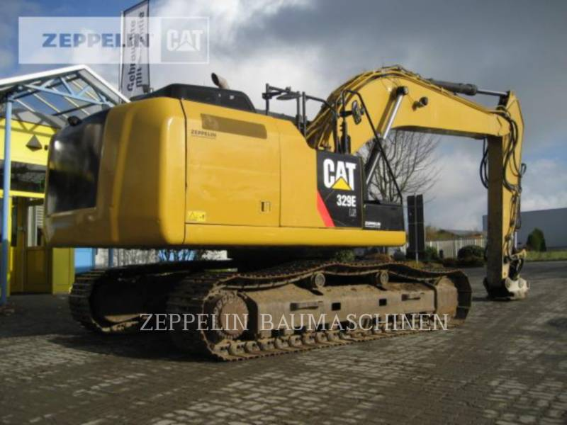 CATERPILLAR KETTEN-HYDRAULIKBAGGER 329ELN equipment  photo 3