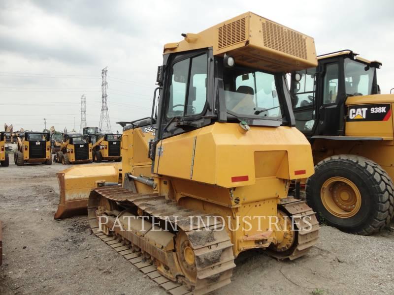 JOHN DEERE TRACTORES DE CADENAS 550K XLT equipment  photo 3