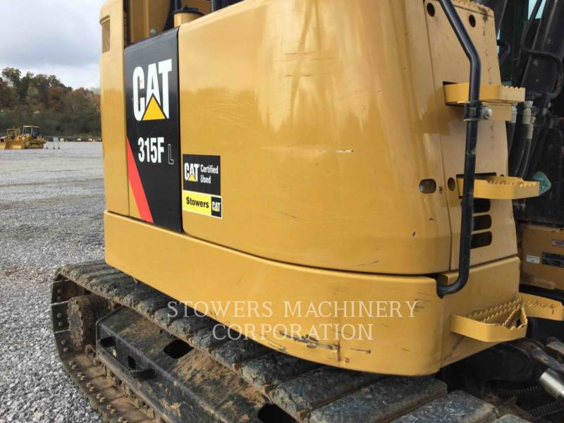 CATERPILLAR PELLES SUR CHAINES 315F equipment  photo 8