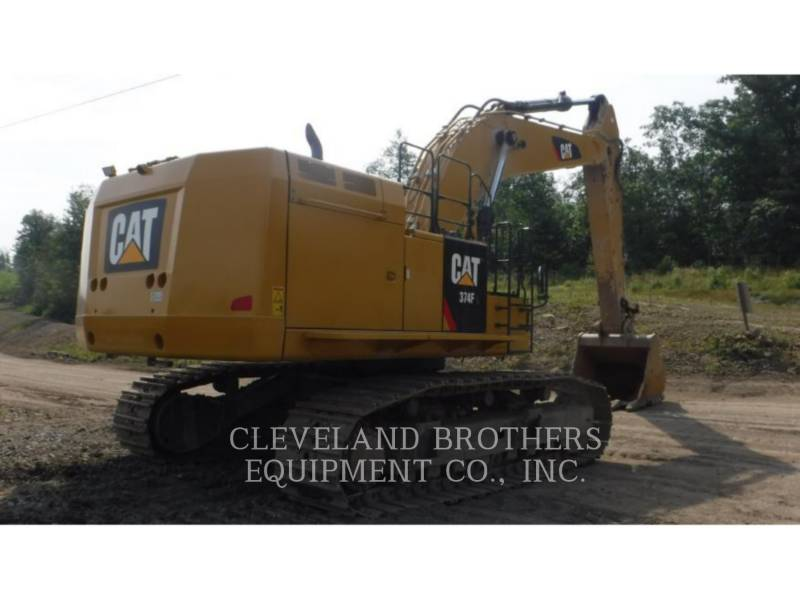 CATERPILLAR EXCAVADORAS DE CADENAS 374FL equipment  photo 4