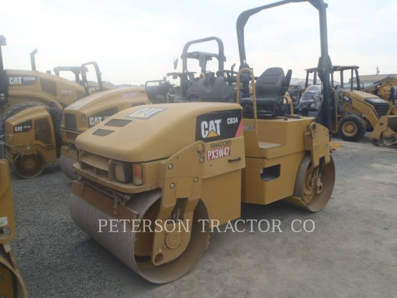 CATERPILLAR ASPHALT PAVERS CB34Q equipment  photo 2