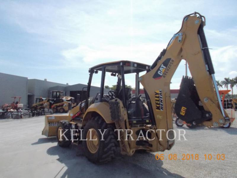 CATERPILLAR BAGGERLADER 420F2ST equipment  photo 3