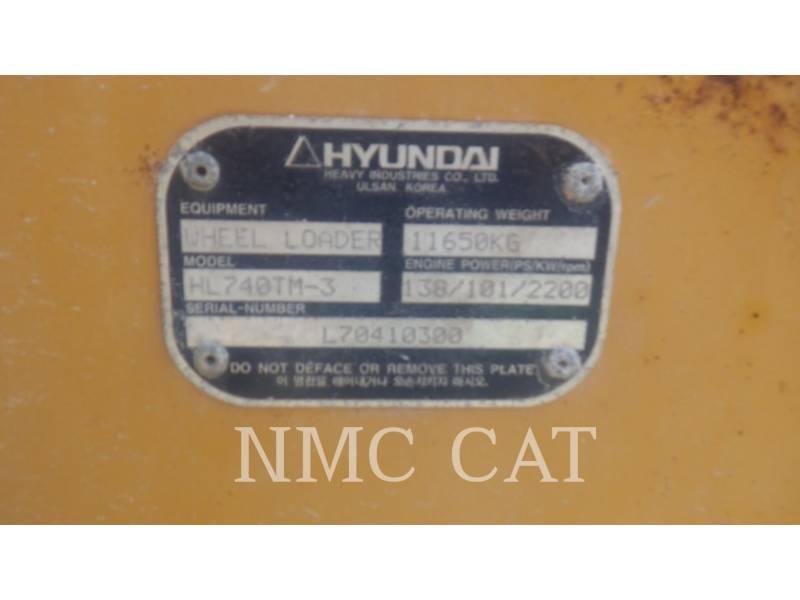 HYUNDAI RADLADER/INDUSTRIE-RADLADER HL740-3_HN equipment  photo 6